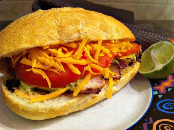 Mexican Chicken Sub Recipe