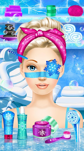 Ice Queen Makeover - Girls Makeup & Dress Up Game FREE.1.3 screenshots 2