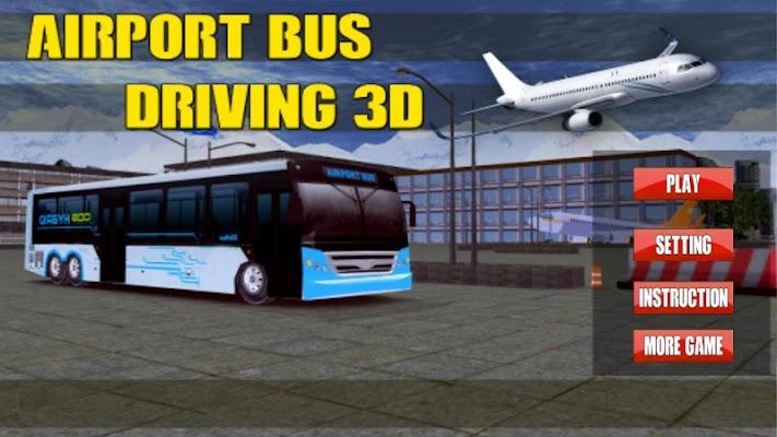 Airport Bus Driving 3D - screenshot