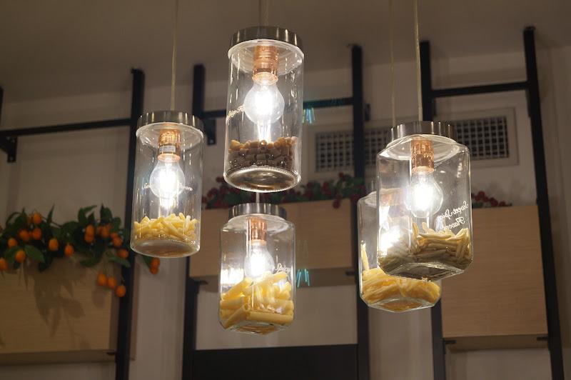 Riciclare la pasta scaduta... illuminante! di Astrik