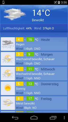 Wetter Wien screenshot 2