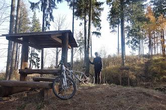 Photo: odpočívadlo pod vrchem Oldřichov