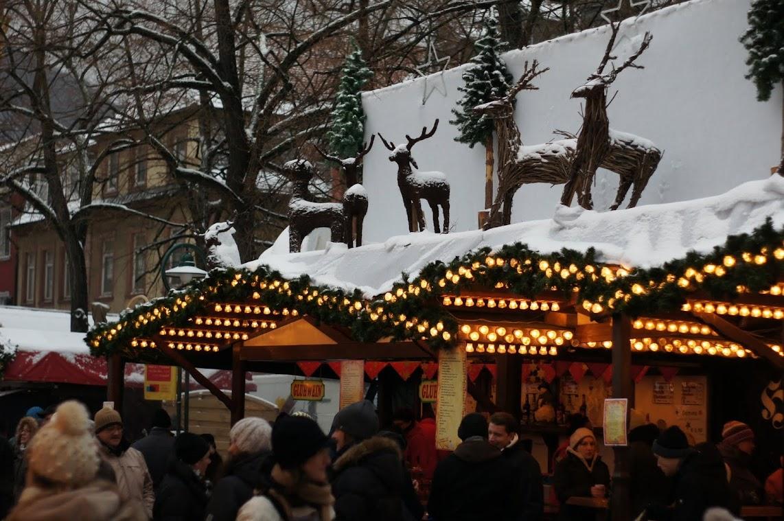 Heidelbrerg Christmas - Гейдельберг в рождество, Германия