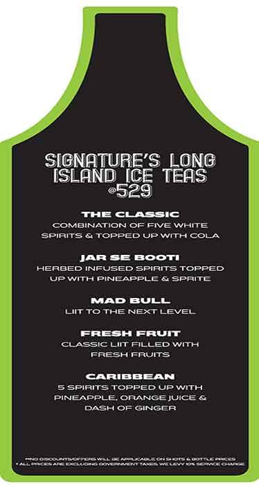 Lost Lemons menu 4