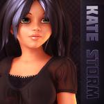 Escape - Kate Storm - Escape the room game Icon