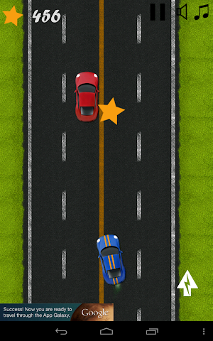 android Classic Highway Car Avoidance Screenshot 0