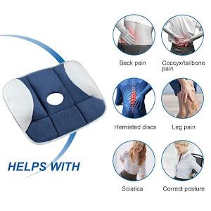 Perna ortopedica Pure Posture prevazuta cu gel pentru corectarea posturii