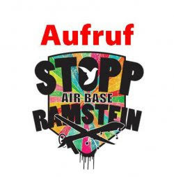 Logo: Stopp Air Base Ramstein.