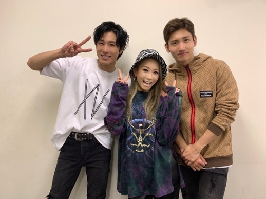 TVXQ-And-Koda-Kumi