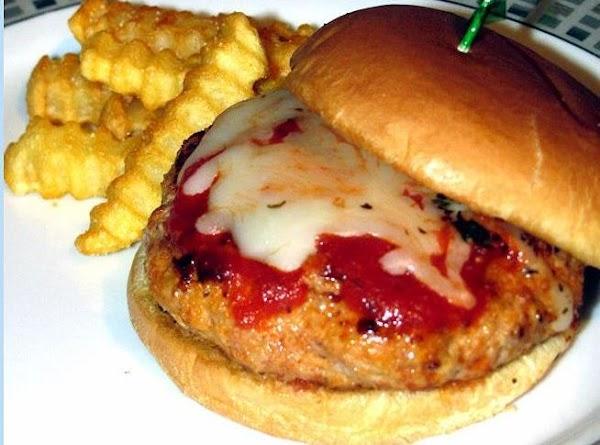Italian Pork Patty Melts Recipe