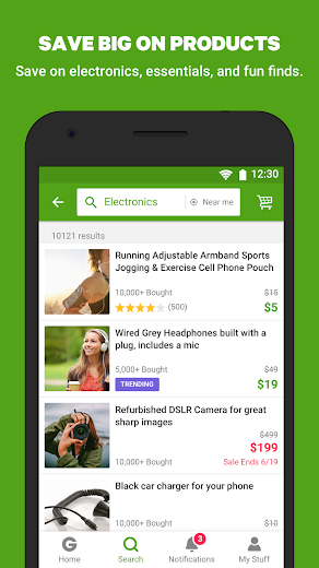 Screenshot 3 for Groupon's Android app'