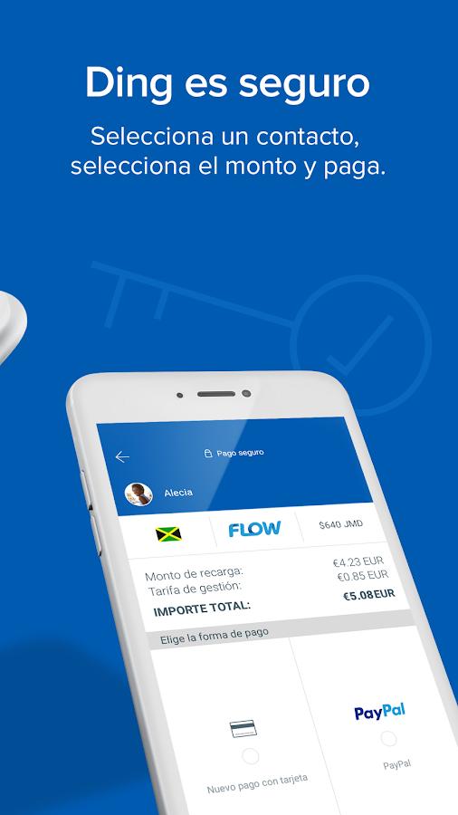 Recarga Celular - Ding - Aplicaciones Android en Google Play