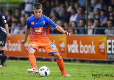 Thierry Raskin is fier op hoe zijn zoon zich integreert bij Gent