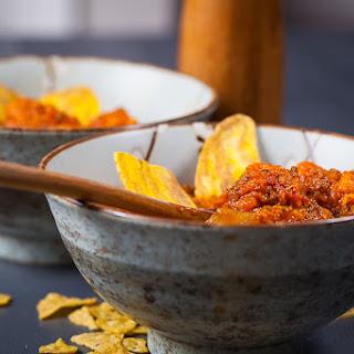 Sweet Potatoes and Spicy Chorizo Stew.