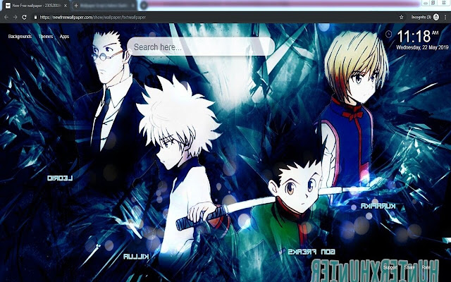 Hunter X Hunter Wallpaper Hd Nuevotab