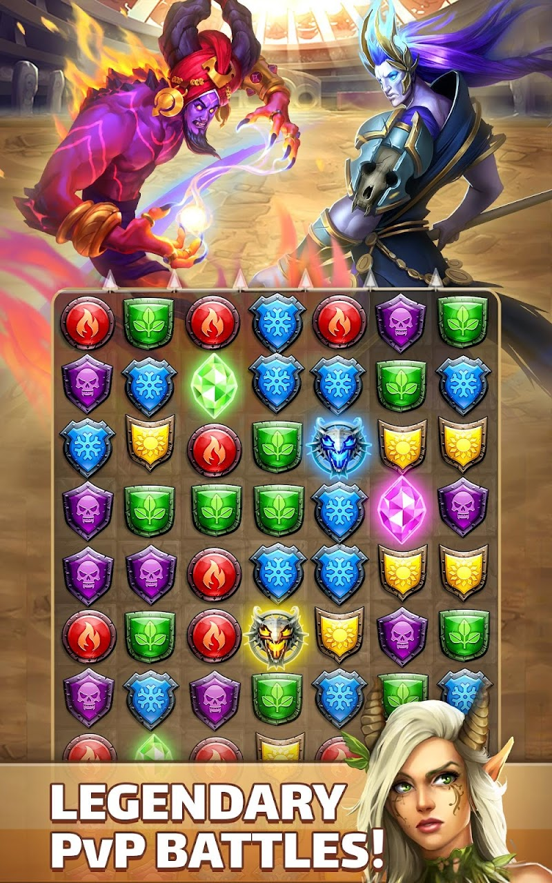 Empires & Puzzles: RPG Quest Screenshot 9