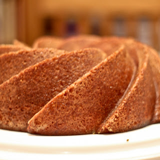 Brown Sugar Pound Cake, Slightly Salted