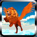 León del vuelo -Wild Simulador icon