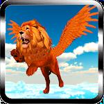 Flying Lion - Wild Simulator Icon