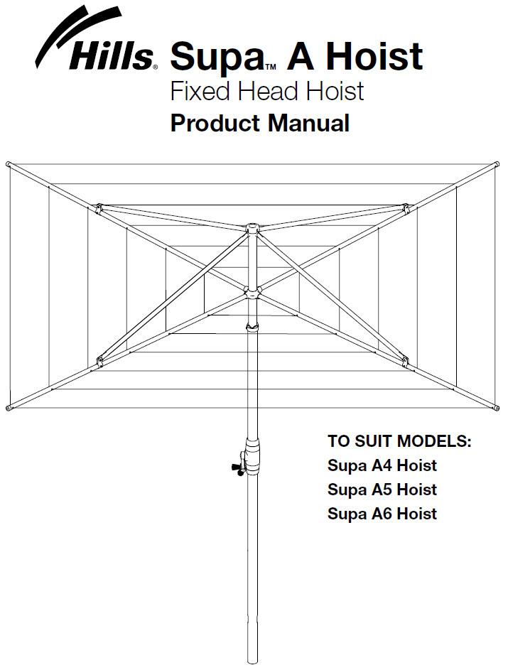 hills hoist installation instructions