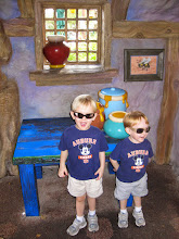 Photo: Day 2 - Exploring the Winnie the Pooh ride waiting area