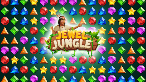 Jewels Jungle Treasure : Match 3  Puzzle apktram screenshots 6