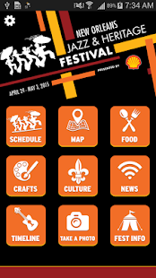 New Orleans Jazz Festival - screenshot thumbnail