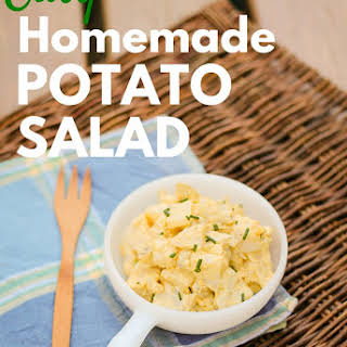 Homemade Potato Salad Recipe, Simple Real Food Style.