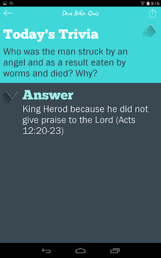 Devo Bible Quiz screenshots 9