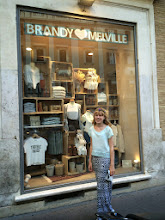 Photo: Brandy Melville (trendy teen store started in the Bay Area) has a HUGE store in Rome. Most of the clothes are manufactured in Italy.
