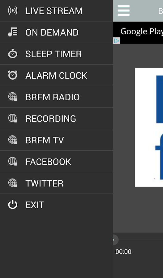 BRfm Radio- screenshot
