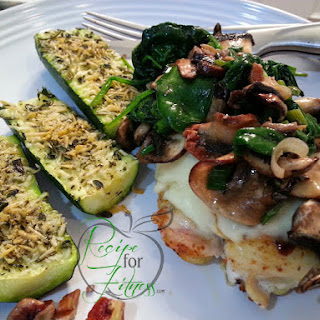 Parmesan Herb Zucchini.