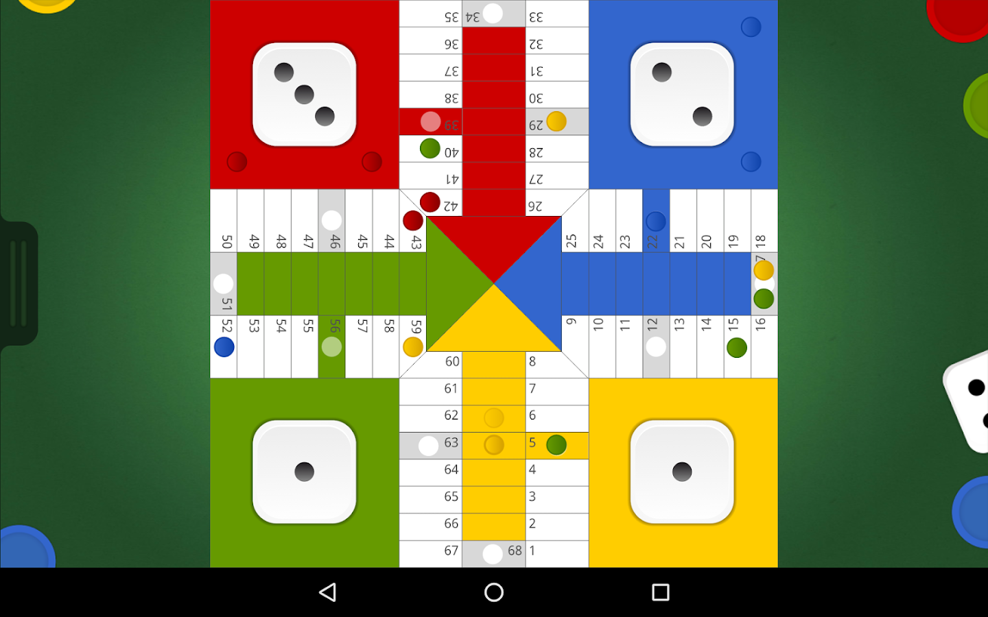 Game board colors - Board Games Screenshot