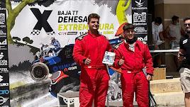 David Montoya y Gabriel Flores consiguieron la tercera posición en Extremadura.