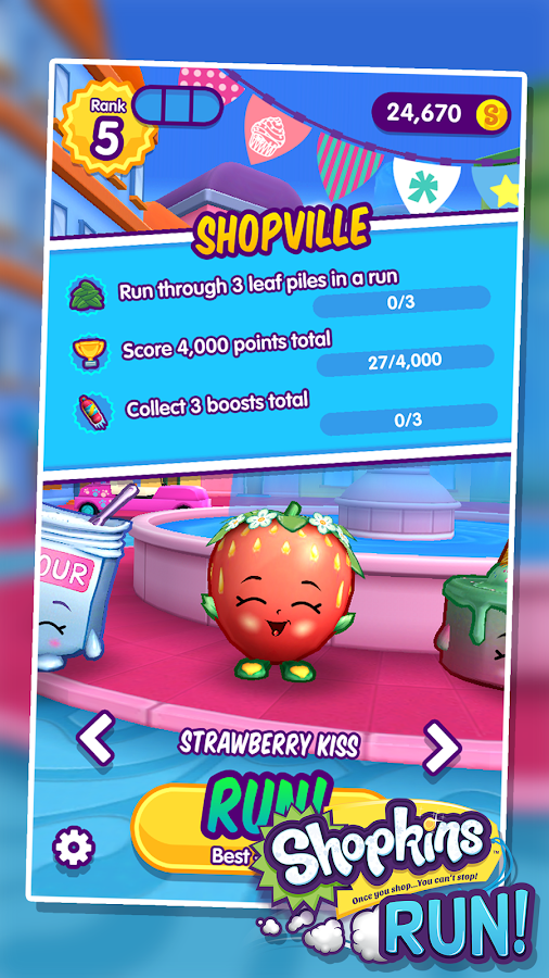 Shopkins Run!- screenshot