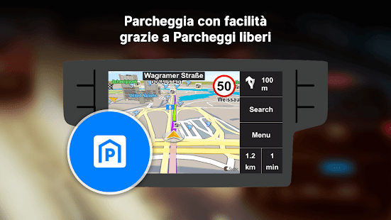 Sygic Car Connected Navigazione Screenshot