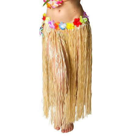 Hawaiikjol lång,naturfärgad