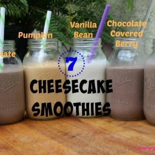 7 Cheesecake Smoothies.