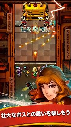 Battle Bouncers - ヒーローと魔法使いたち. 射撃 クエストのおすすめ画像2