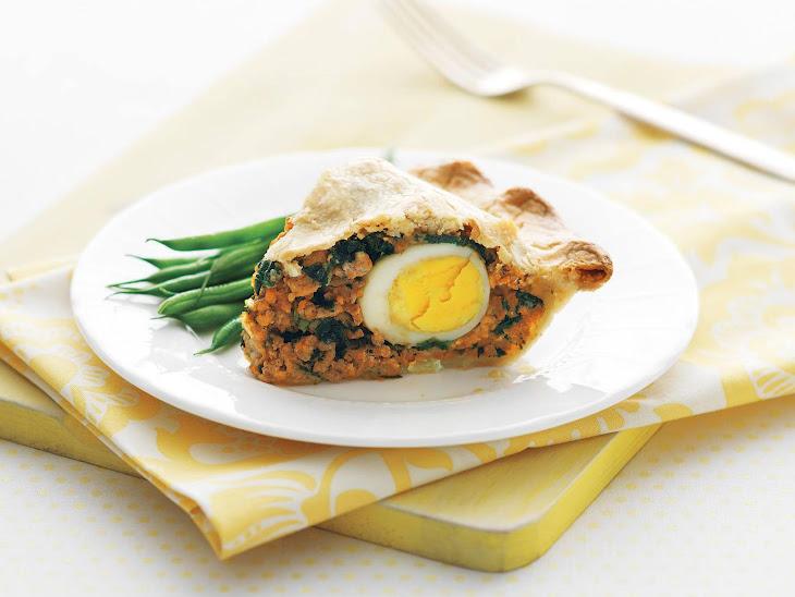 Savoury Easter Egg Torta Recipe
