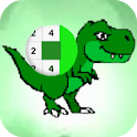 Dino Pixelcraft:Coloring Art Number icon
