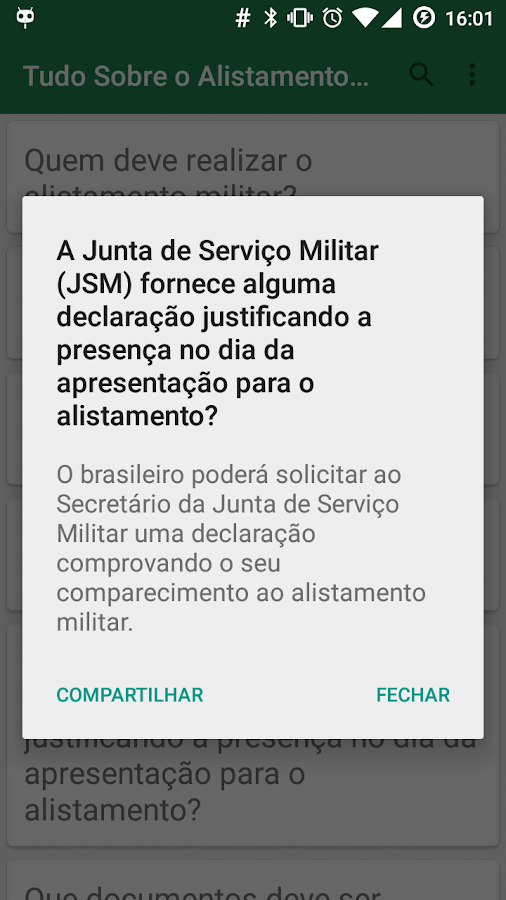 Brazilian Military Enlistment- screenshot