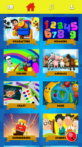 Kids Videos & Nursery Rhymes - Kids First 3.0.9 screenshots 2