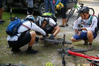 Photo: pre ride checkup