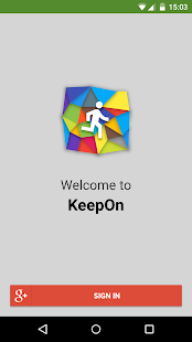 KeepOn- screenshot thumbnail