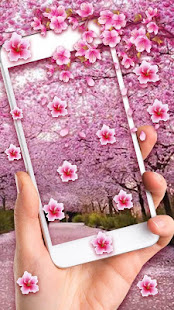 Romantic Sakura Live Wallpaper Apps On Google Play Free Android