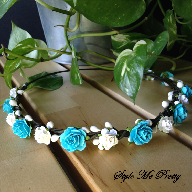 Baby Blue Rosie by Style Me Pretty