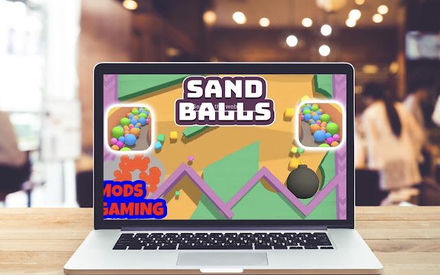 Sand Balls HD Wallpapers Game Theme