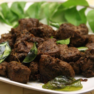 Liver Fried With Mustard