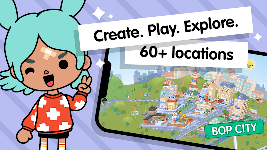 Toca Life World: Build stories & create your world 1.24.1 (Unlocked)